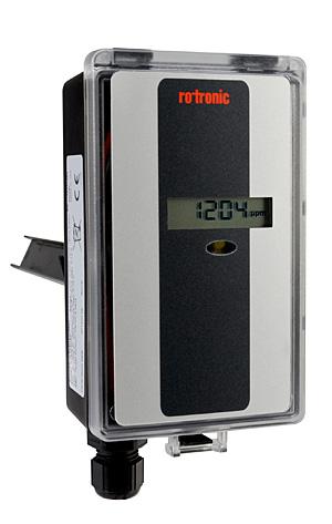Rotronic mit neuem Messumformer für CO2-Messung