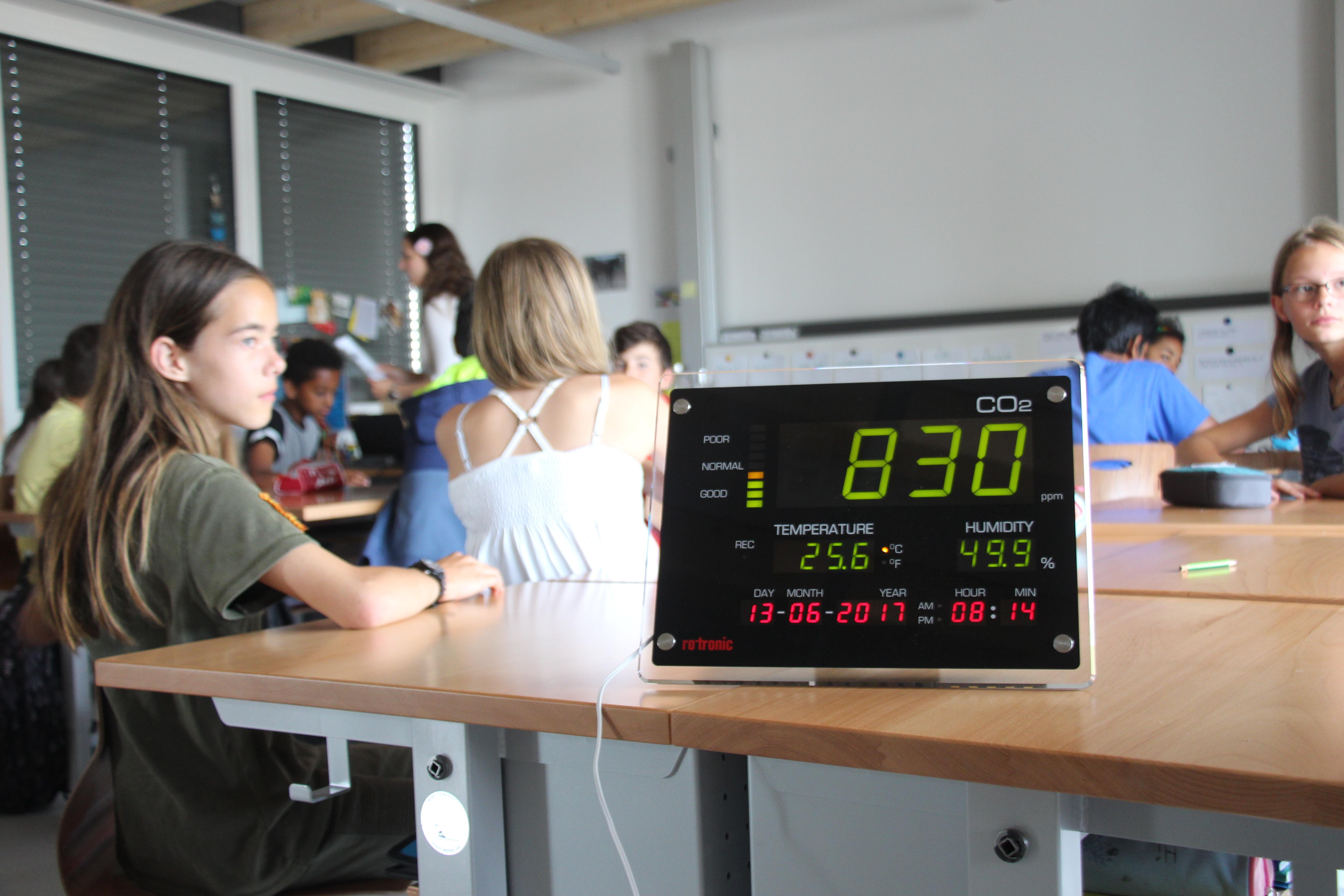 Für eine bessere Luft in Schul- und Büroräumen