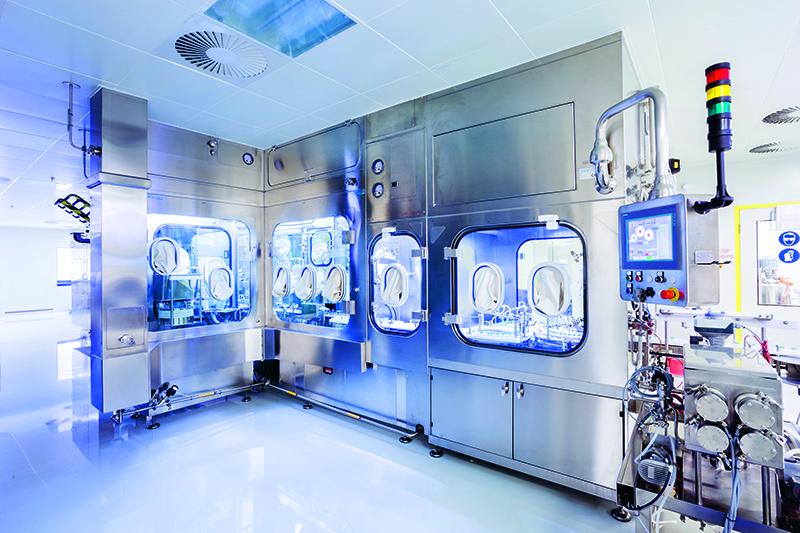 Steriline relies on Rotronic Measurement Devices
