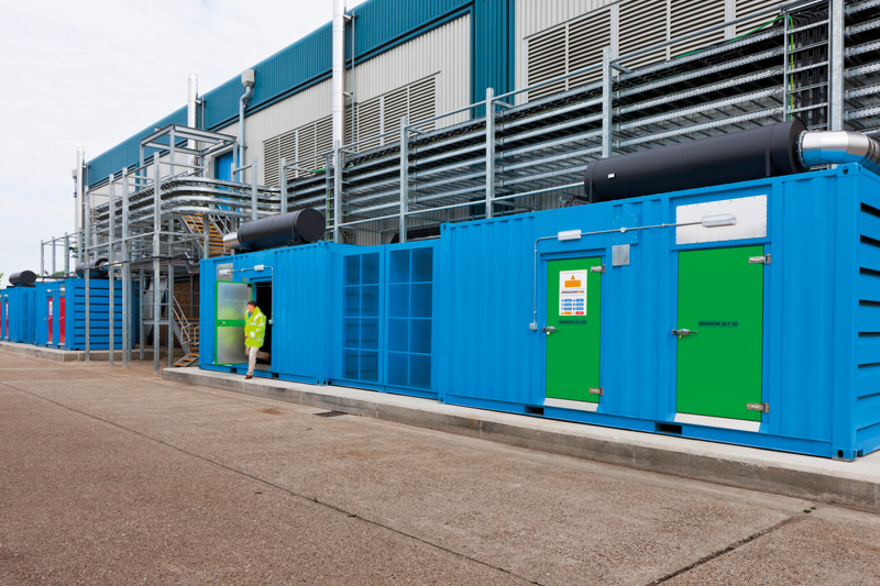 Colt Data Centers monitored by Rotronic