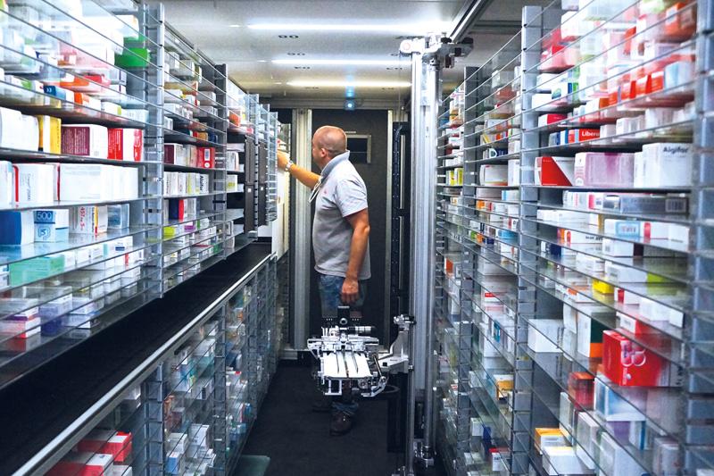 Contrôle de médicaments – fiable et économe en temps