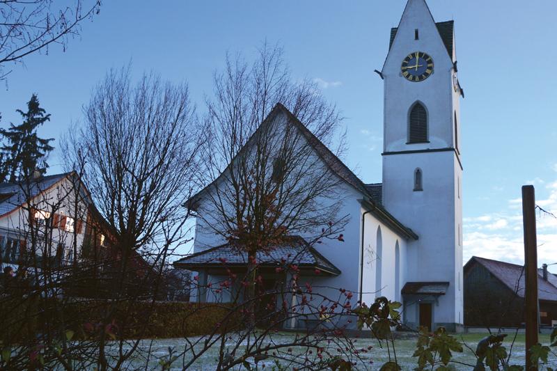 Prévention contre les moisissures avec le système de monitoring Rotronic RMS dans une église classée
