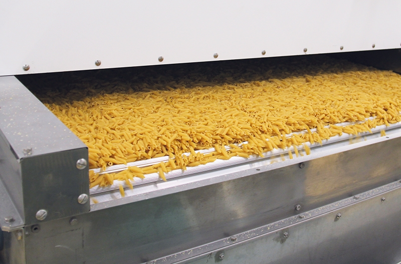 Migros dried pasta perfectly monitored
