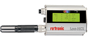 Rotronic's new universal logger - an all-round instrument