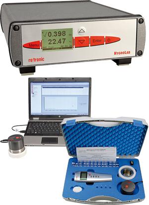 Schnelle und präzise Messung der Wasseraktivität