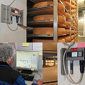 Stockage du fromage à la température adéquate