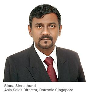 Rotronic eröffnet Niederlassung in Singapur