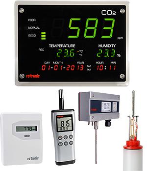 Dossier Presse-Event 2013 - Rotronic bietet ein umfangreiches Sortiment an CO2-Messgeräten an
