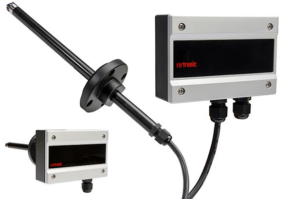 Transmetteur de mesure de débit AF1 de Rotronic