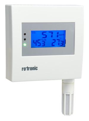 Trasmettitore di CO2, umidità e temperatura
