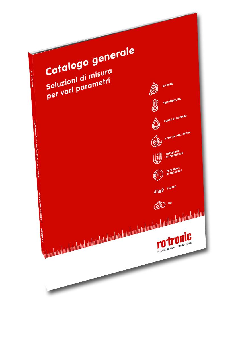 """Fresco di stampa: Il nuovo catalogo """"Measurement Solutions"""""""