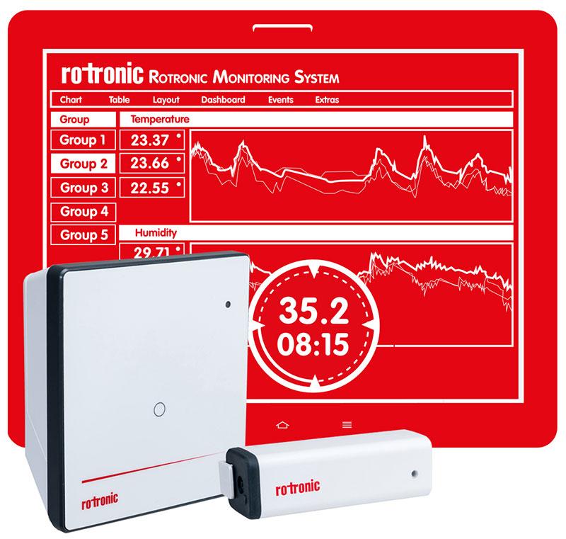 Rotronic mit neuem Daten-Überwachungssystem (RMS)