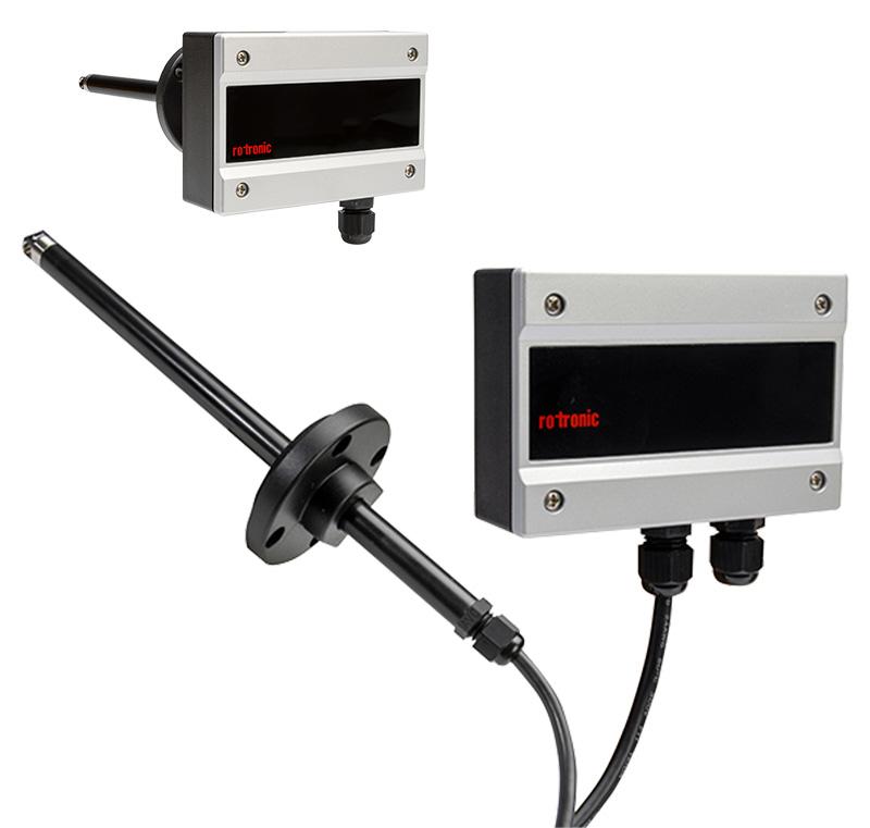 Rotronic Durchfluss Messumformer AF1 wird digital