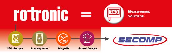 ROTRONIC übergibt Handelsgeschäft der SECOMP AG