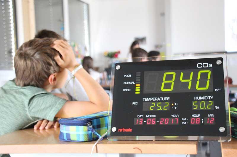 Perfektes Klima für erfolgreiche Meetings oder Schulstunden