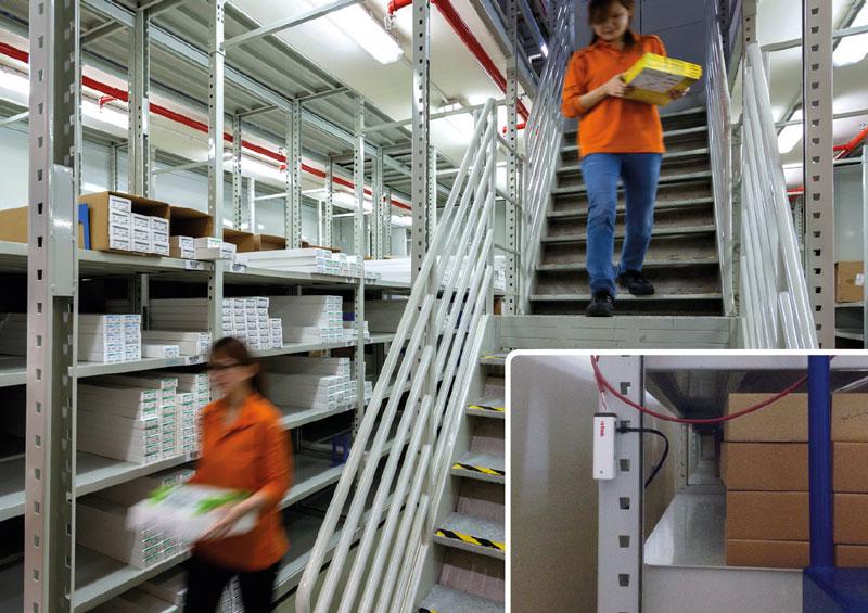 Contrôle de la température dans les entrepôts Logistiques