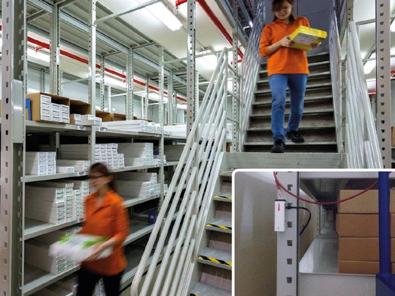 Temperaturüberwachung in Logistiklagern