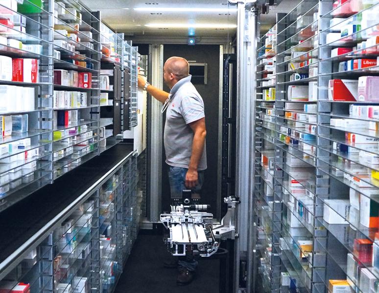 Il monitoraggio dei medicinali – affidabile e rapidissimo