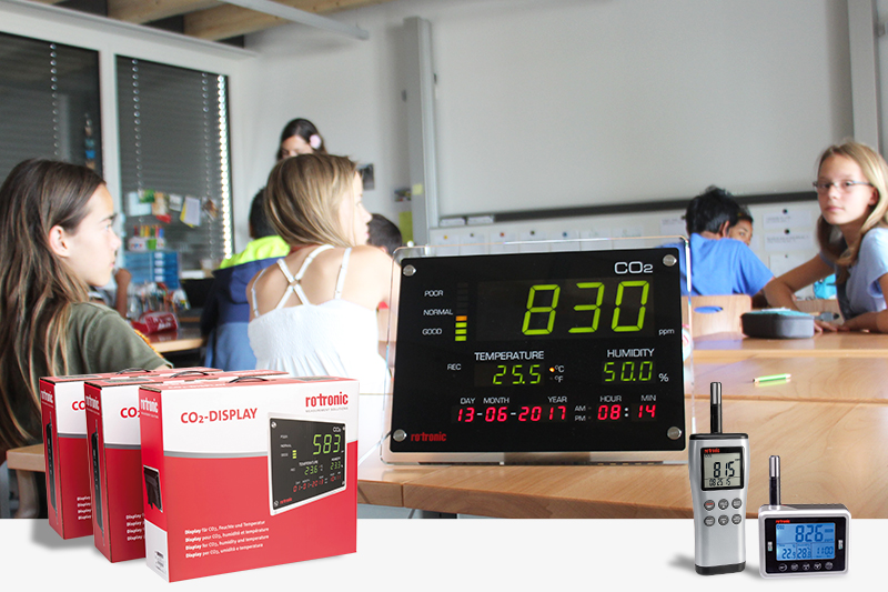 Forte hausse de la demande des appareils de mesure du CO2
