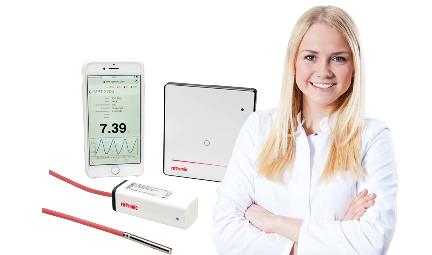 Temperature monitoring for product storage in pharmacies