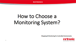 How to choose a monitoring system