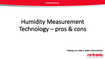 Humidity Technology Pros Cons