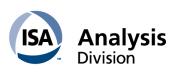 63rd ISA Analysis Division Symposium