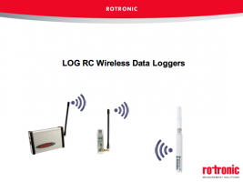 Product Webinar - Rotronic Wireless Data Loggers
