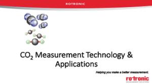 Product Webinar - Carbon dioxide Measurement Technology