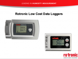 Product Webinar - Rotronic Data Loggers
