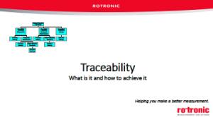 Webinar - Traceability