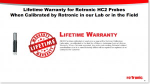 Product Webinar - The Rotronic Services Overview